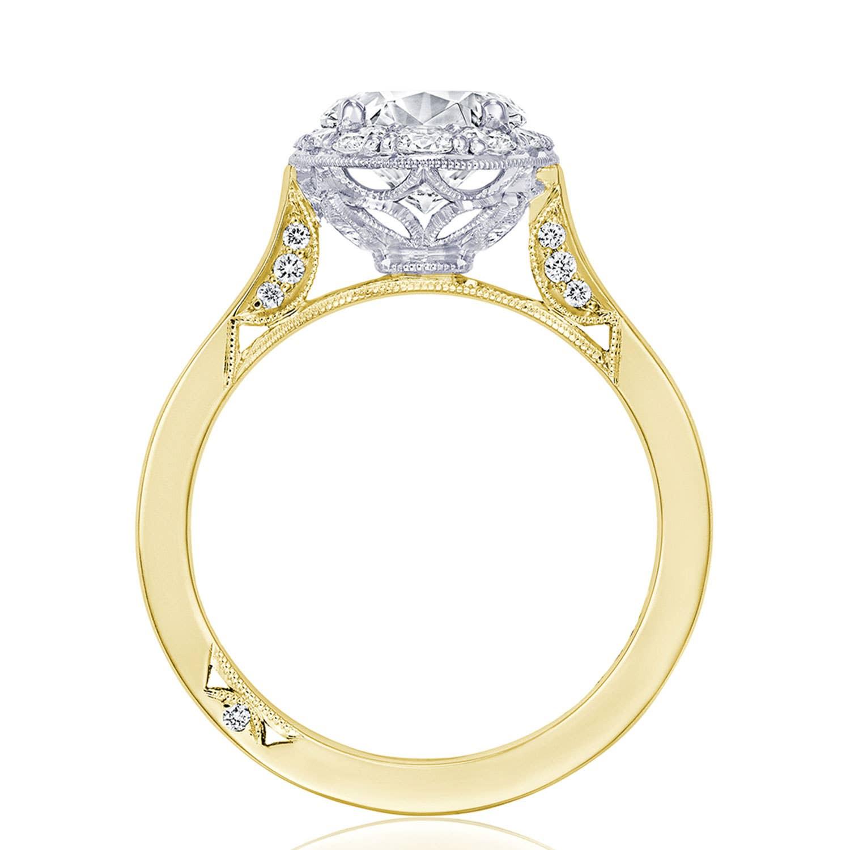 Tacori Engagement Ring - HT257RDOV75YW