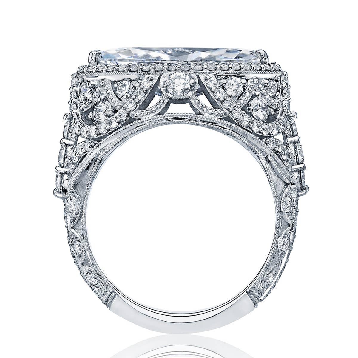 ht2612mq by Tacori - RoyalT Marquise engagement ring