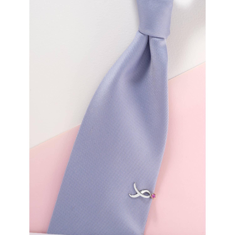 Shining Strength Breast Cancer Awareness tie bar - Susan G Komen Tacori Collection