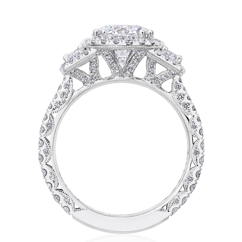 Tacori RoyalT Engagement Rings - HT2677RD8