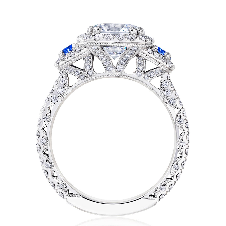 Tacori RoyalT Engagement Rings - HT2679CU8BS