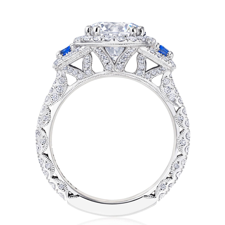 Tacori RoyalT Engagement Rings - HT2679RD85BS