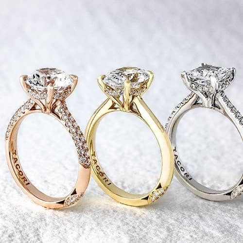 Founder's Collection Solitaire Rings