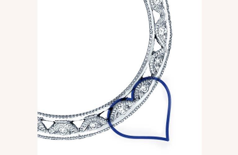 Tacori Crescent - Hidden Symbols of Love