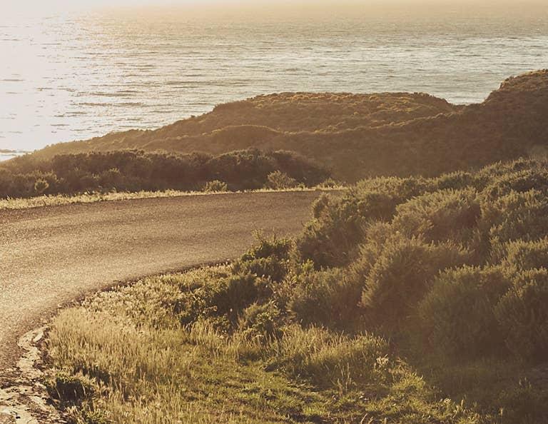 California Coastline Road