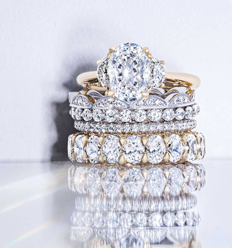 Stack of new bridal designs