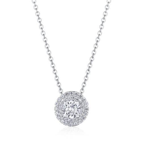 "17"" Double Bloom Diamond Necklace"