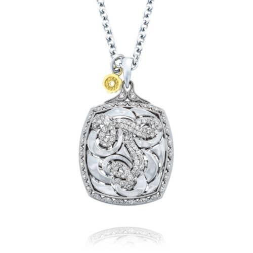 Tacori Initial Pendant in Silver | SN221