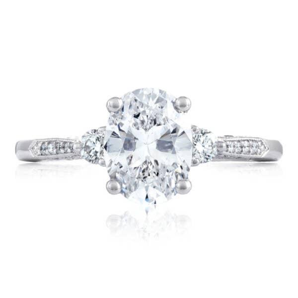 Tacori Engagement Rings - 2657OV85X65