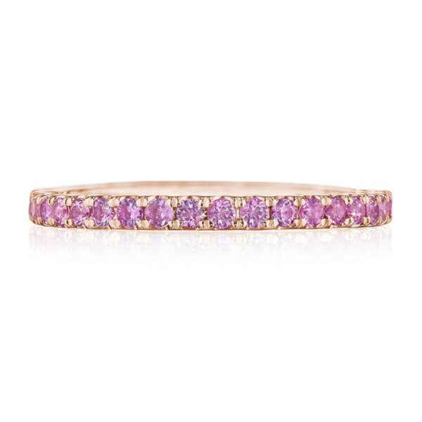 Tacori Rainbow Ring in Pink Sapphire 2667B12PKSPK