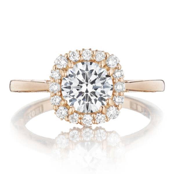 Tacori Engagement Rings - 55-2CU65PK