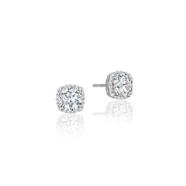 Dantela Bloom Diamond Stud Earrings