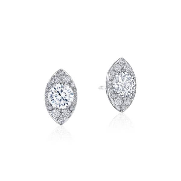 Marquise Bloom Diamond Earring