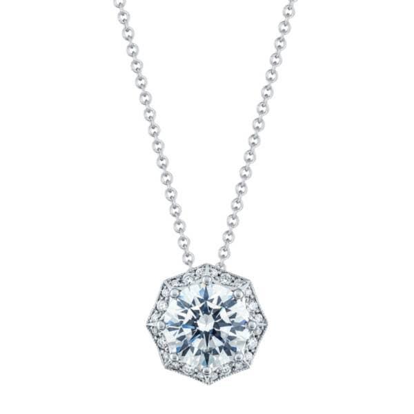 Art Deco Bloom Diamond Necklace
