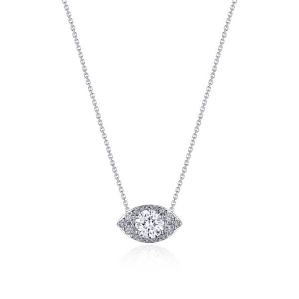 """17"""" Marquise Bloom Diamond Necklace"""