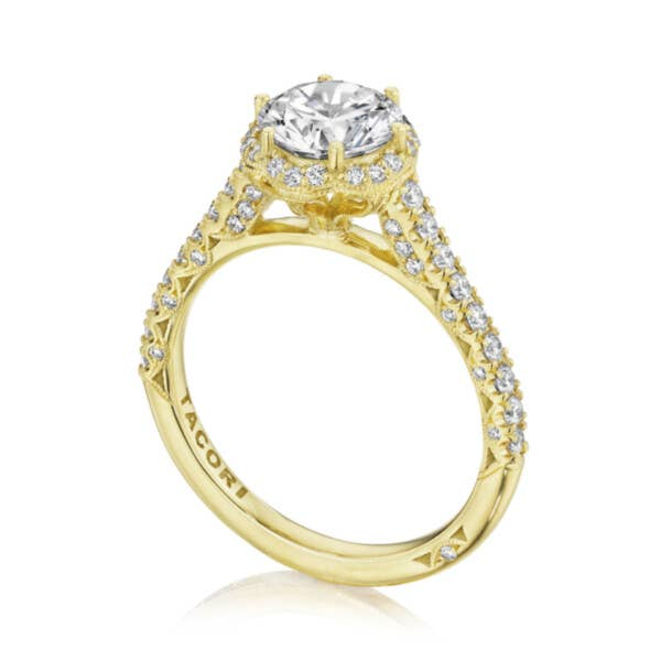 Tacori Engagement Rings - HT2547RD7Y
