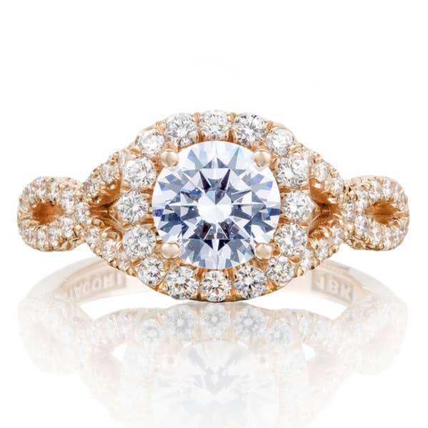 Tacori Engagement Rings - HT2549CU65PK