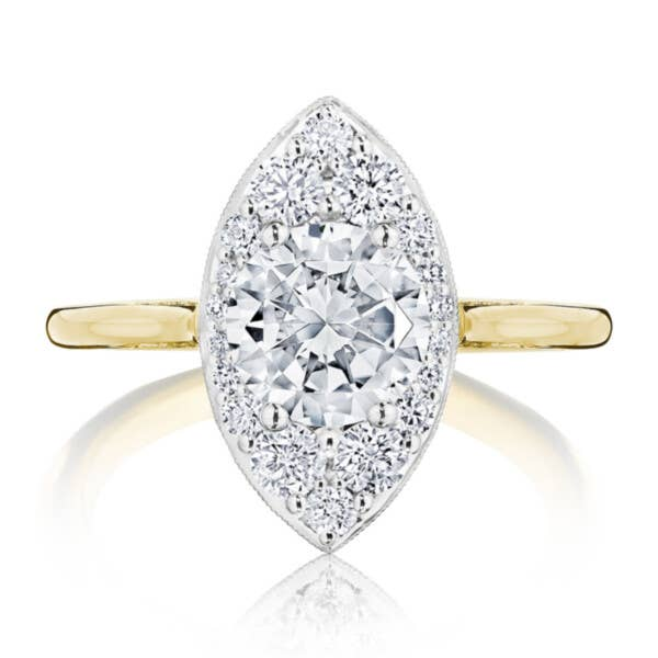 Tacori Engagement Ring - HT2577RDMQ