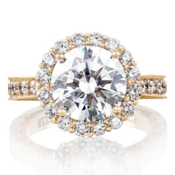 Tacori Engagement Rings - HT2605RD95PK