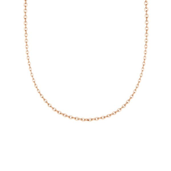 """Rose Gold 18"""" Chain - SN24018FP"""