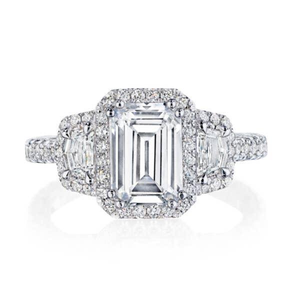 Tacori RoyalT Engagement Rings - HT2577EC85X6
