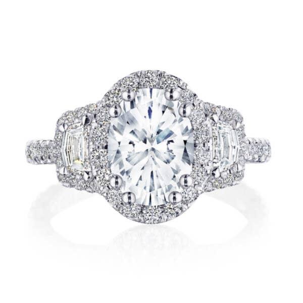 Tacori RoyalT Engagement Rings - HT2677OV95X7