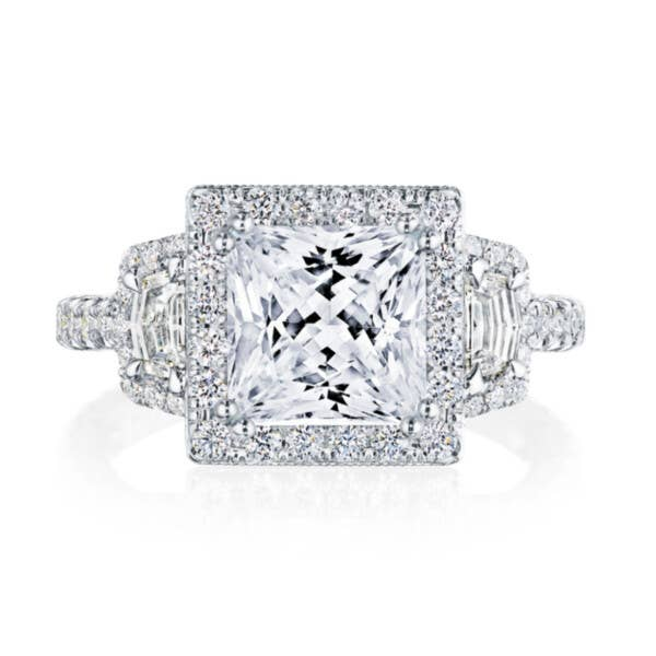 Tacori RoyalT Engagement Rings - HT2677PR7