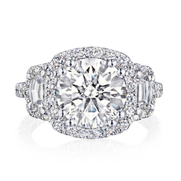 Tacori RoyalT Engagement Rings - HT2678CU95