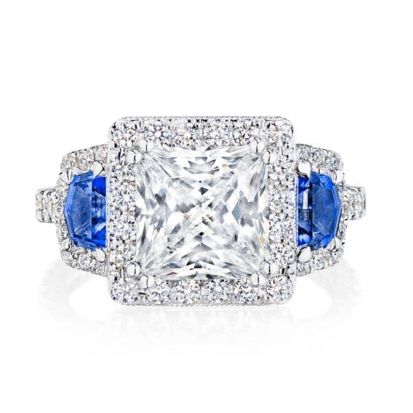 Tacori RoyalT Engagement Rings - HT2679PR8BS