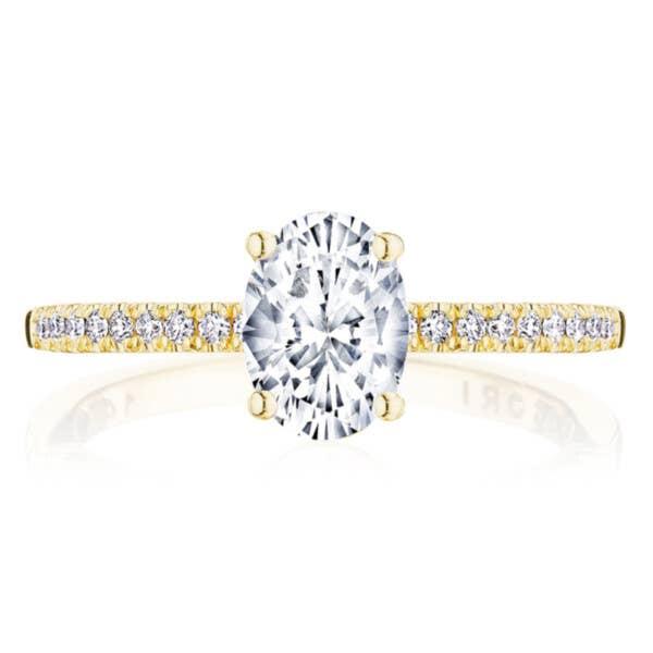 Tacori Engagement Rings - P104OV75X55FY
