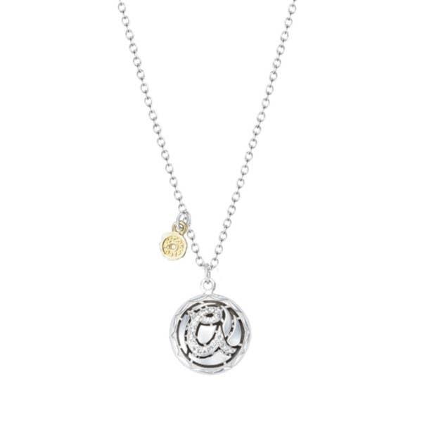 Tacori Monogram Necklace | SN197