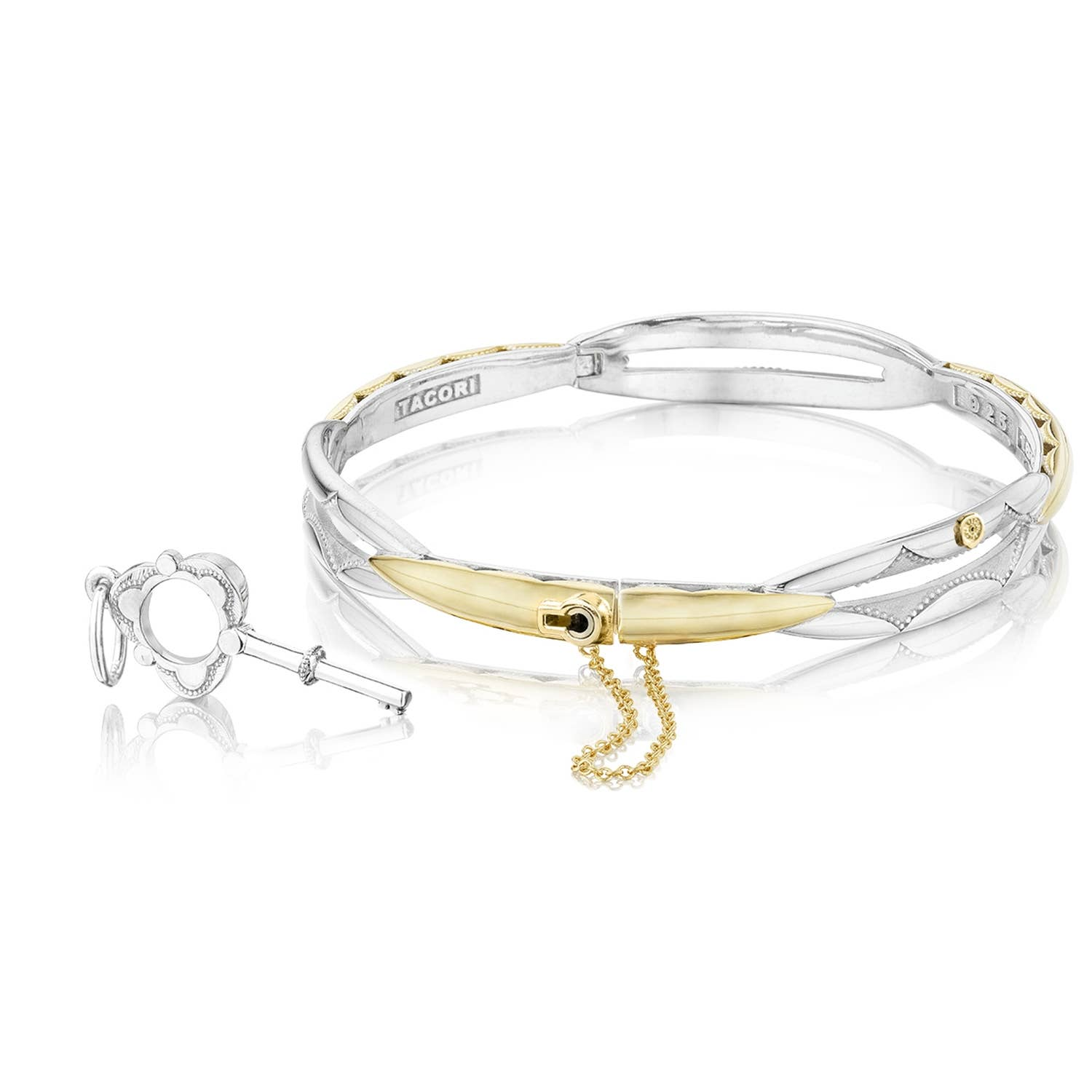 Promise Bracelet Round Yellow Gold And