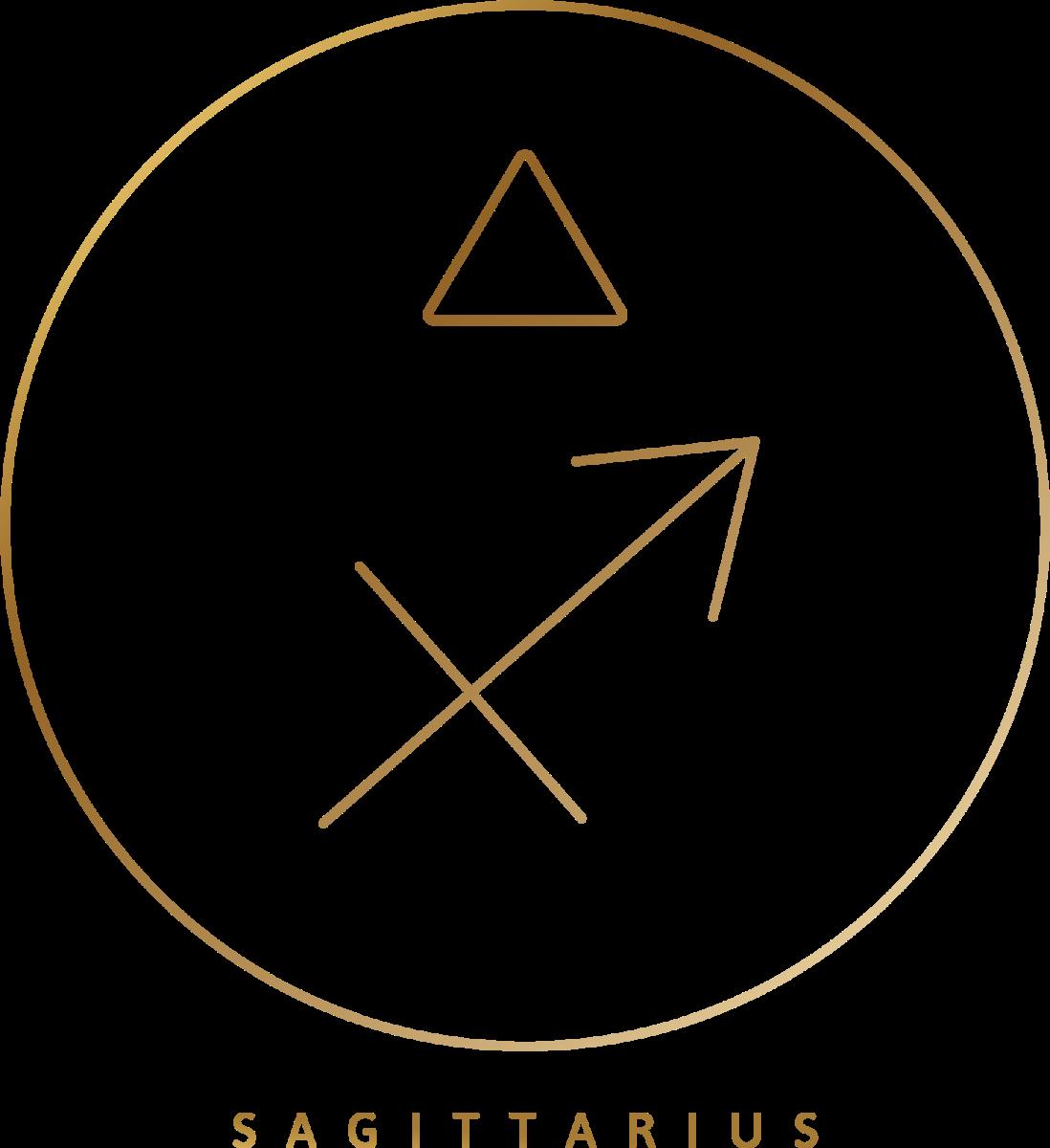 Glyphs_Sagittarius_GOLD_Pixejoo