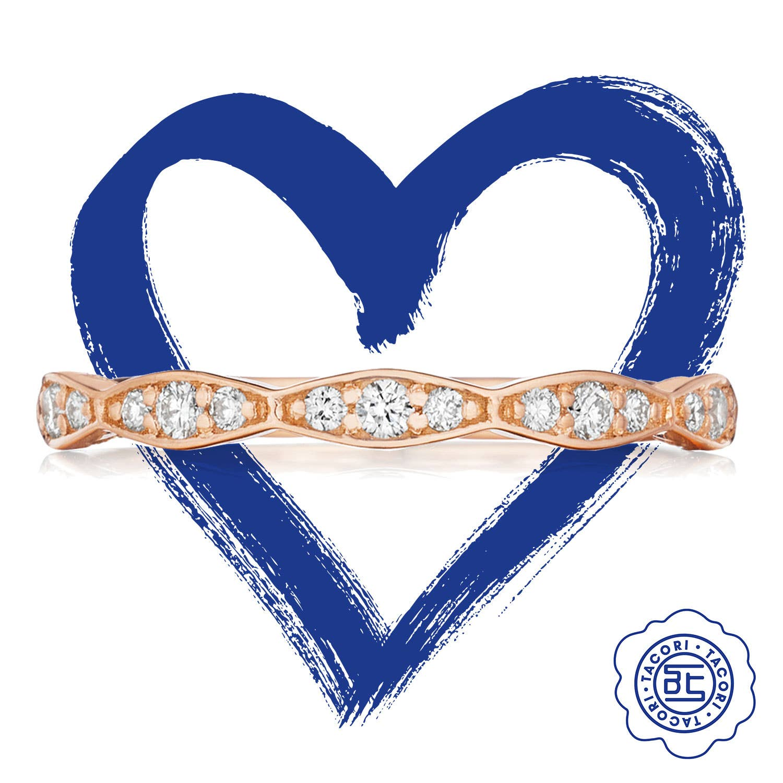 Sculpted Crescent Ring