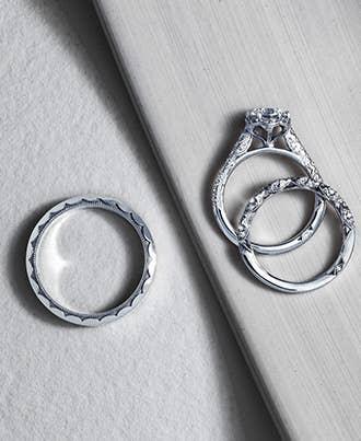 Platinum Tacori Couple