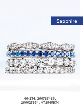Sapphire Band Stack