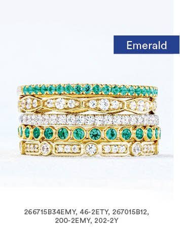 Emerald Band Stack