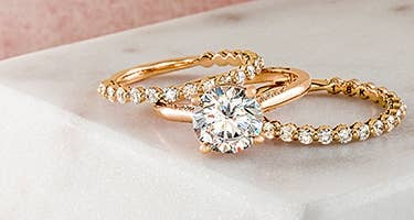 Rose Gold Engagement Rings By Tacori
