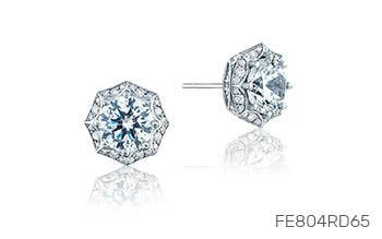 Renaissance Bloom Diamond Studs