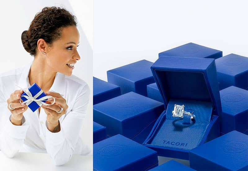 Sai and Tacori Blue Box