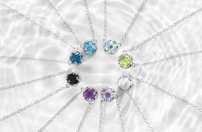 Petite Gemstones Black Onyx Bracelets